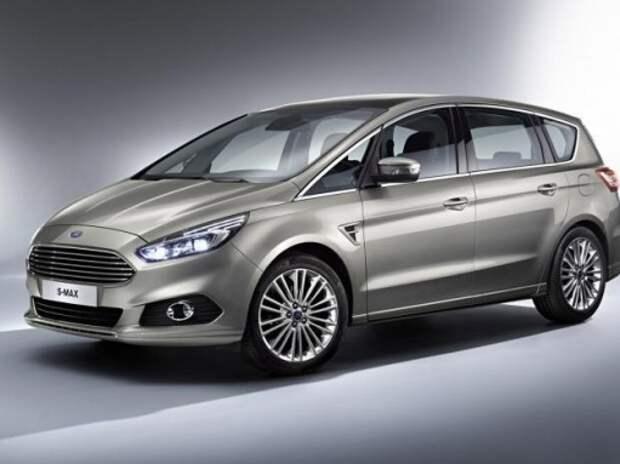 Ford представил новый минивэн S-Max