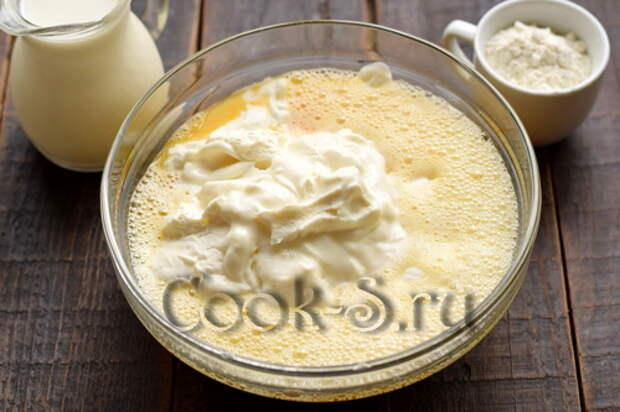Обалденный пирог из замороженного кефира