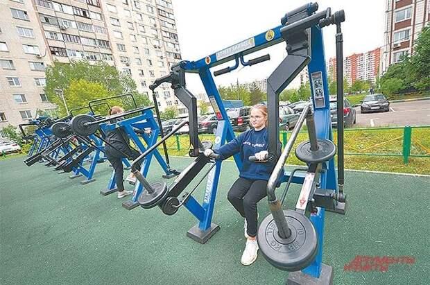 Бесплатные фитнес-парки хотят открыть по всей России