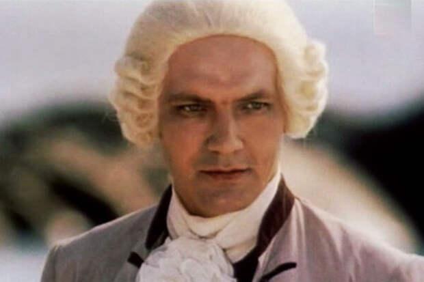 кадр из фильма «Михайло Ломоносов», 1986 год