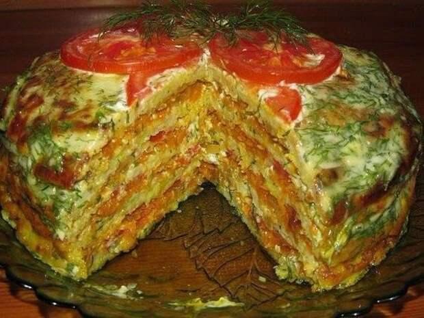 Вкуснейший тортик из кабачков