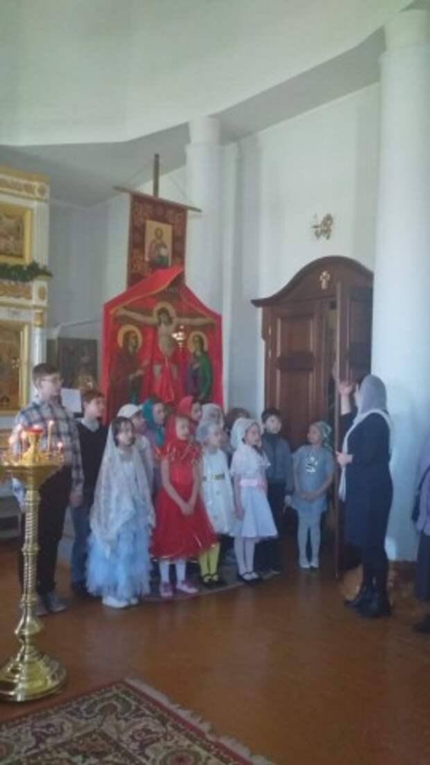 Праздник воскресной школы храма Святого Духа в неделю Антипасхи 2021 г.