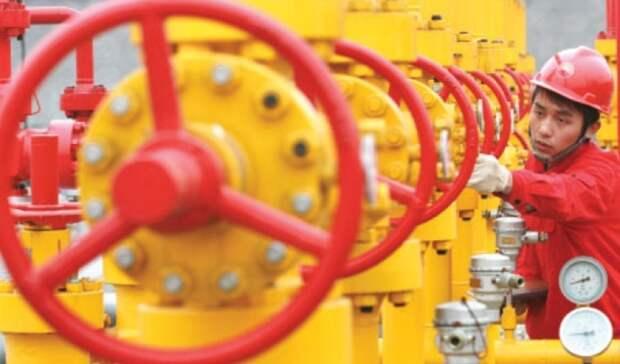 После трех месяцев роста китайский импорт газа сократился на2,4%