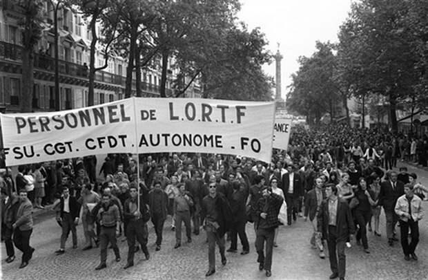 Всеобщая забастовка во Франции, май 1968 года