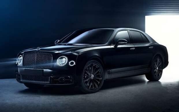 Тьма сгущается: Bentley Mulsanne получил еще одну «зловещую» версию