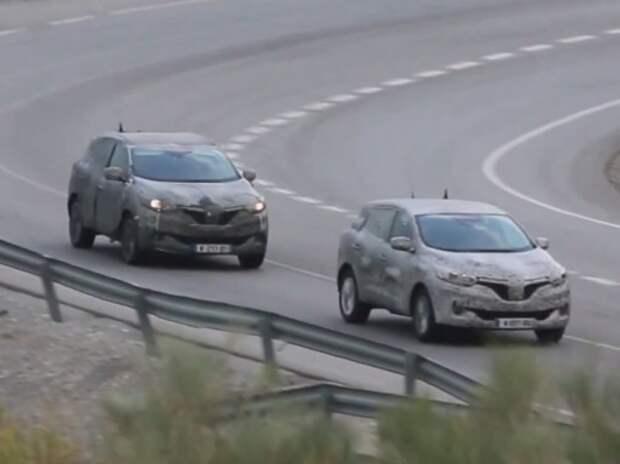 На камеру впервые снят новый кроссовер Renault (ВИДЕО)