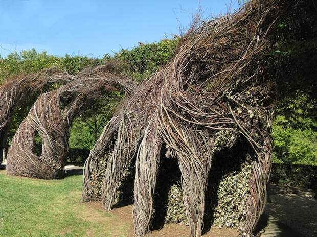 Easy Rider by Patrick Dougherty