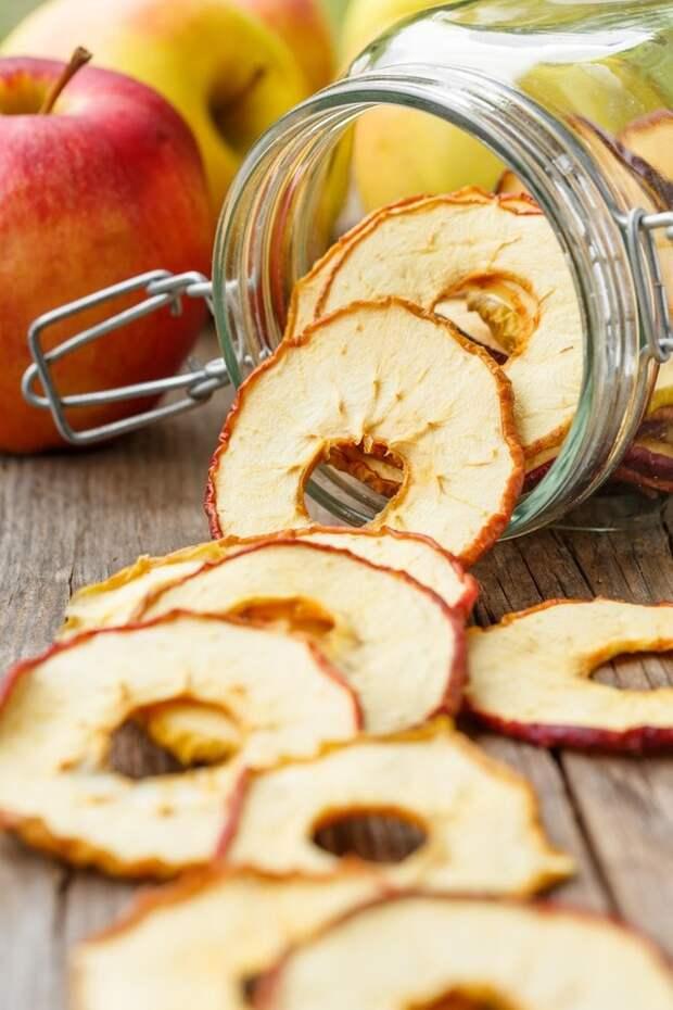 Яблочные чипсы: только польза - Woman's Day