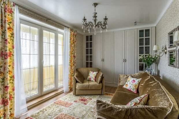 Шикарная «однушка» с классным ремонтом и французским окном