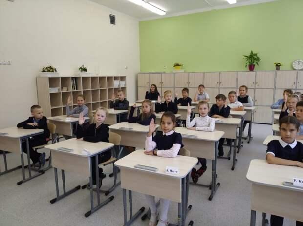 Школа в Северном приняла первых учеников