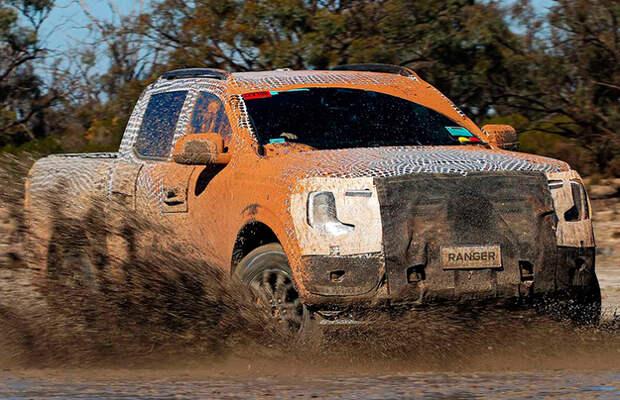 Оцените испытания нового Ford Ranger (видео)