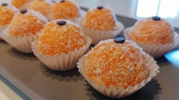 морковное печенье без выпечки