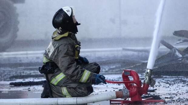 Пожар в доме на севере Москвы мог возникнуть из-за мангала на балконе