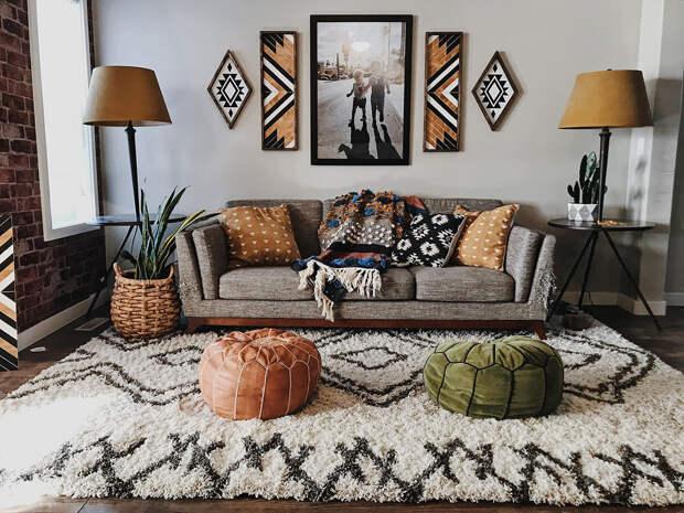 идеи дизайна интерьера вашей гостиной комнаты фото 10