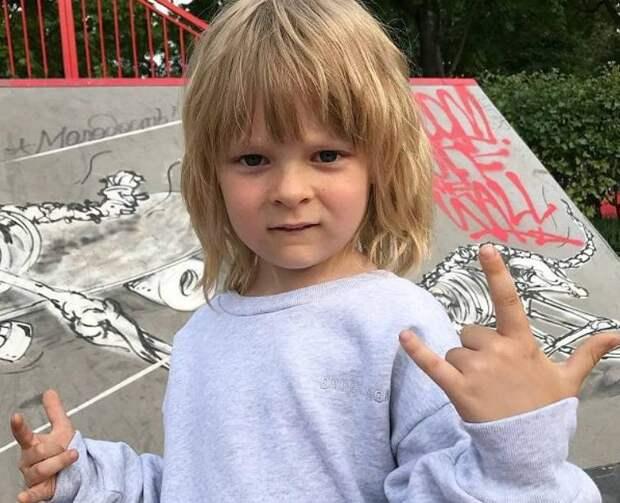 У 7-месячного сына Рудковской и Плющенко, брата Гном Гномыча, уже есть домашнее прозвище