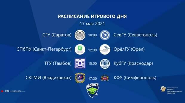 СГУ (Саратов) — СевГУ (Севастополь) | Высший дивизион | 2021