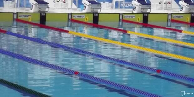 Команда пенсионеров из Войковского стали лучшими в округе на соревнованиях по плаванию
