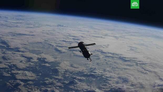 Модуль «Пирс» затоплен на «кладбище космических кораблей» в Тихом океане
