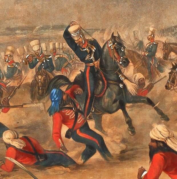 Почему англичане боялись сикхов в бою на холодном оружии
