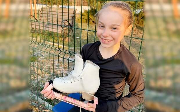 Ученица Плющенко Титова выполнила вовремя тренировки дома два четверных прыжка: видео