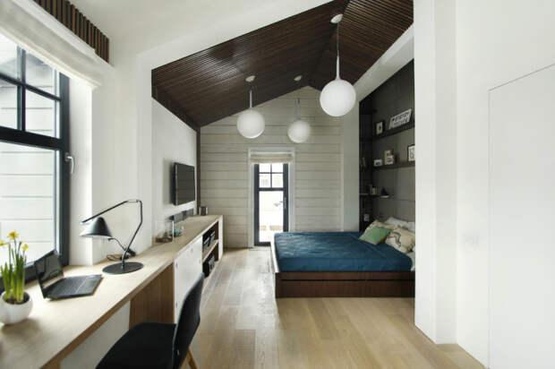 Кабинет в спальне.