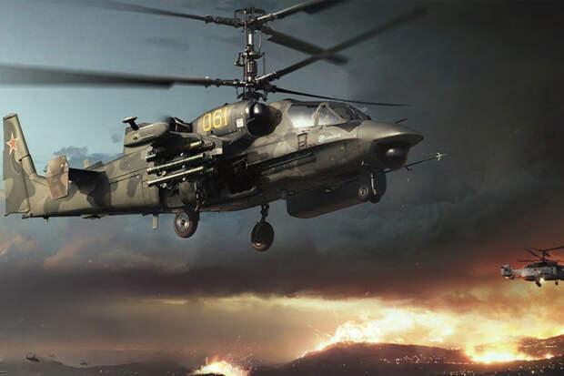 «Аллигатор» загрызет Apache: в США признали силу российского вертолета