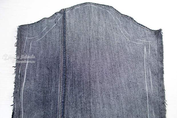 Изменение рукава джинсовки