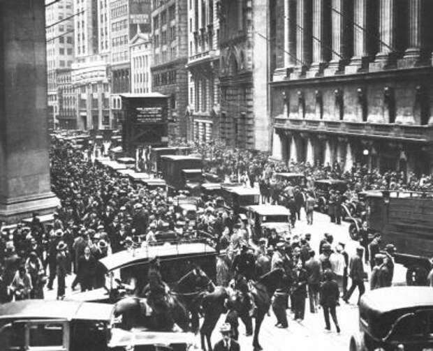 Сценарий Великой Депрессии - как долго будет восстанавливаться рынок