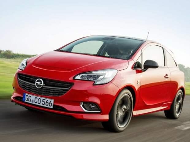 Новый Opel Corsa помечтал о большом спорте с пакетом OPC Line