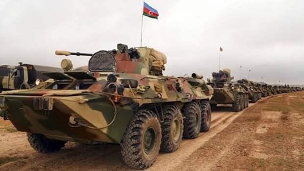 ВС Азербайджана с 16 по 20 мая проведут крупные военные учения