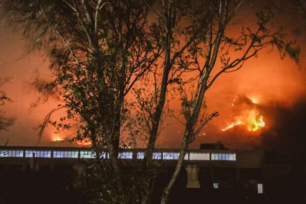 Город в огне. Пожар в Кейптауне глазами местных жителей