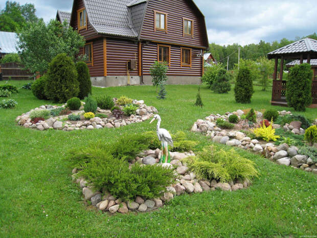 NewPix.ru - Рокарий - удивительный по красоте элемент сада