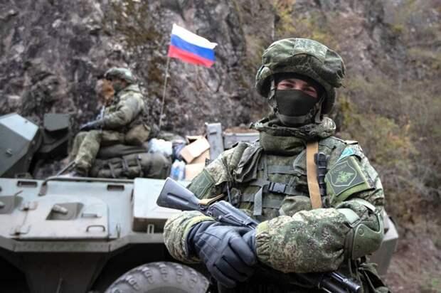 Российские миротворцы помогли доставить гуманитарную помощь в Нагорный Карабах