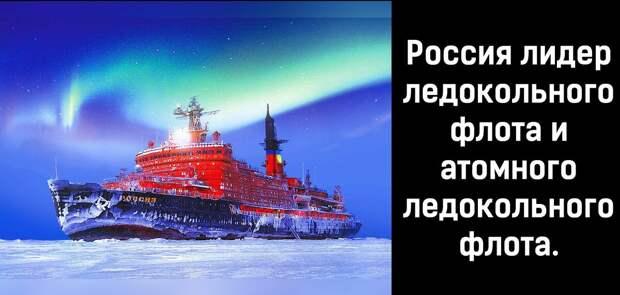 Так и есть, у нас ещё и Арктика наш.