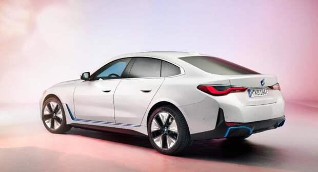 BMW продемонстрировала, как будет звучать спортивная версия электромобиля i4