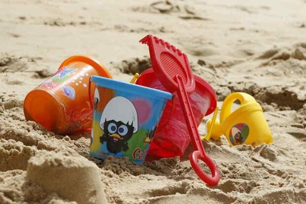 В детской песочнице. Фото: pixabay.com