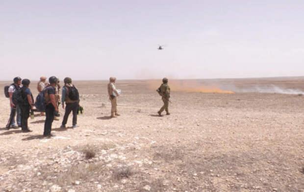 Российские военные уничтожили в Сирии пещеру с командным пунктом боевиков