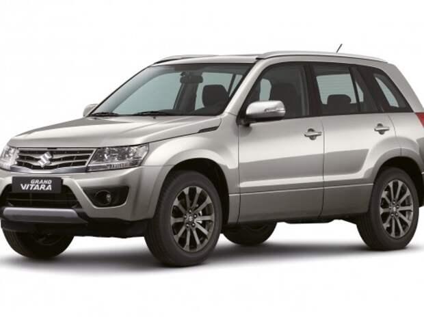 Suzuki Grand Vitara в ноябре получит новую версию