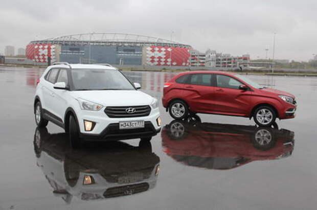 Кредитная история: Hyundai Creta или Lada XRAY?