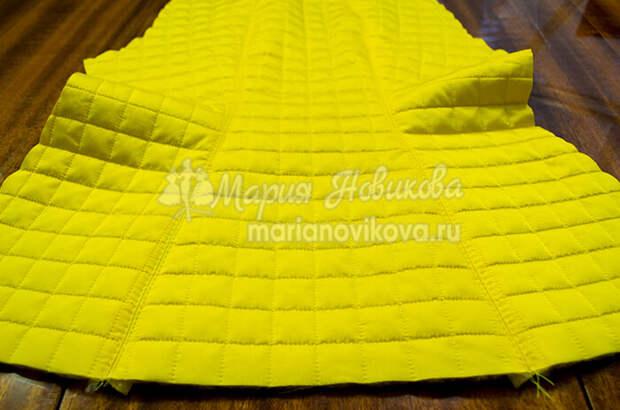 Пошив куртки из стёганой ткани своими руками