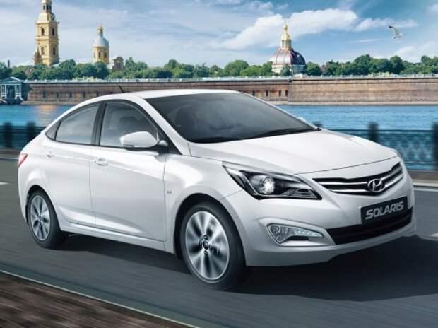 Hyundai Solaris присоединился к программе обновления автопарка