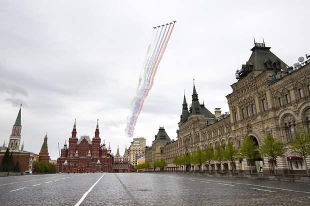 Воздушная часть парада Победы под вопросом из-за погоды