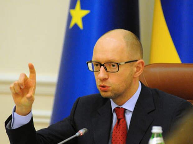Яценюк пригрозил «Газпрому»