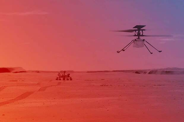 Земляне впервые запустили на Марсе вертолёт: Почему это важно