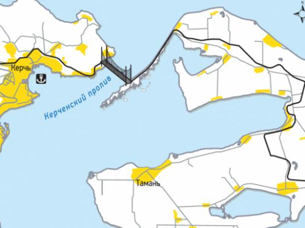 Для строительства моста в Крым двигают компанию-банкрота
