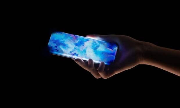 Xiaomi придумала смартфон с боковым сканером отпечатков в загнутом дисплее