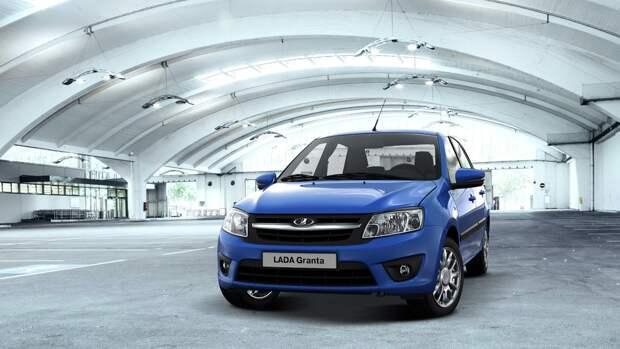 Lada Granta стала самым продаваемым авто в России за апрель