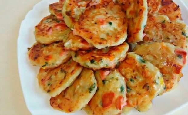 Оладьи со вкусом пиццы. Завтрак – фурор