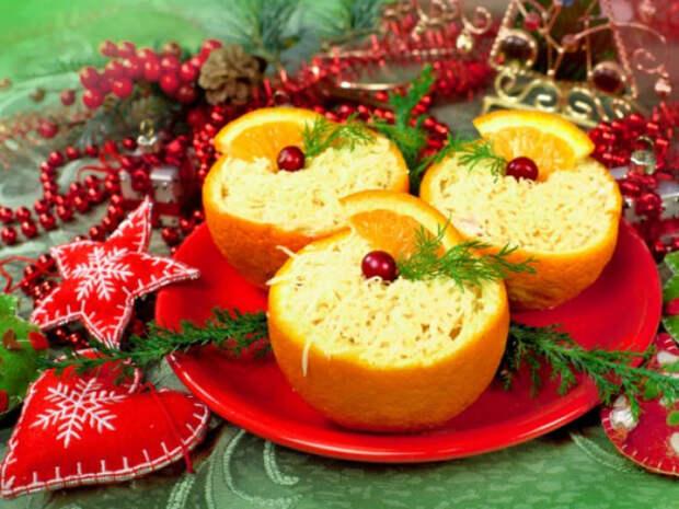 5 салатов с апельсинами - нарядных и полезных