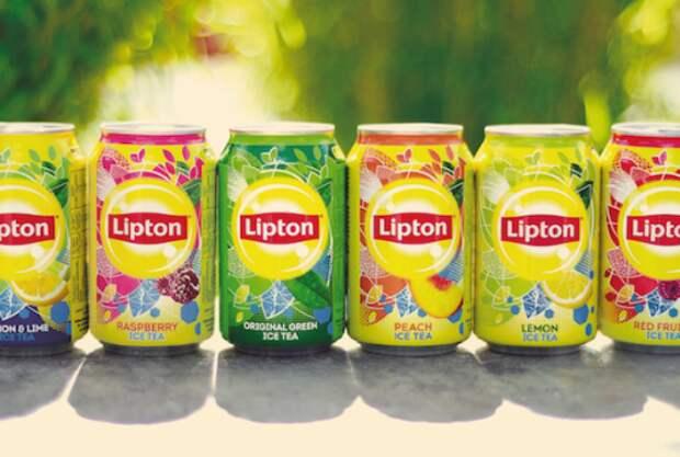 Lipton Ice Tea проводит глобальный ребрендинг
